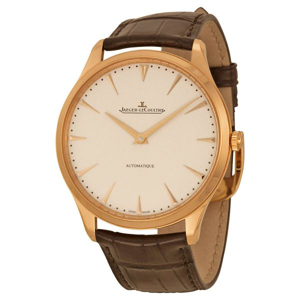 Jaeger Lecoultre Master Ultra Thin Automatic Rose Gold