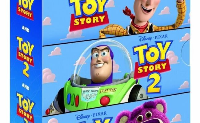 Toy Story Trilogy Complete Collection 1 2 3 Blu Ray Set