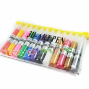 colors 3d paint pen uv gel acrylic