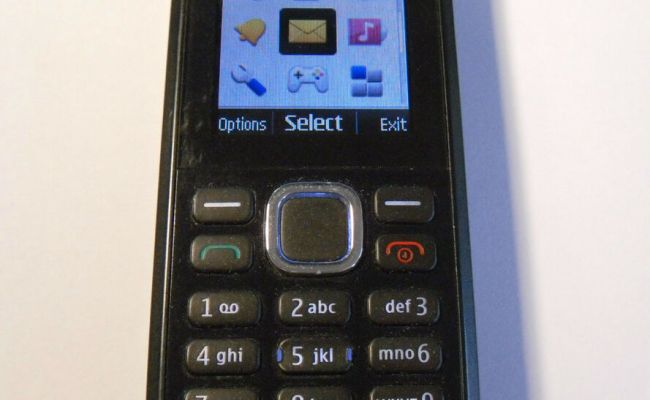 Nokia C1 02 Black Unlocked Mobile Phone Fully