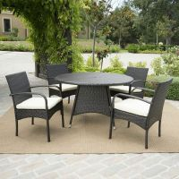 Round Patio Dining Sets Picture - pixelmari.com