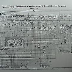 Basic Car Wiring Diagram Sequence Of Login Page 2000 - Up Freightliner Century Columbia Schematic W/ Detroit D | Ebay