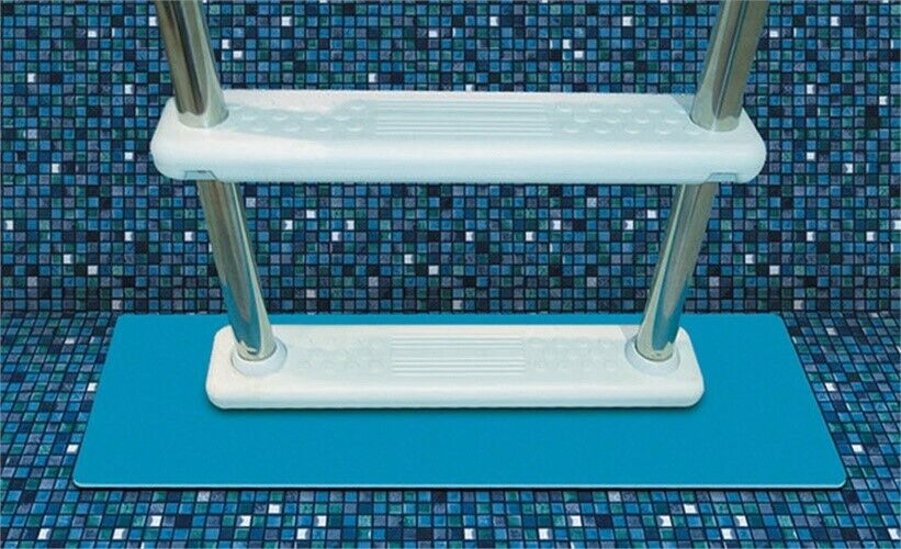 NEW ABOVE GROUND SWIMMING POOL LADDERS FLOOR PAD