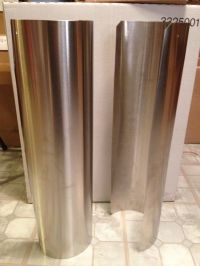 Stainless Steel Stove Pipe Heat Shield | eBay