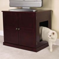 Meow Town Concord Cat Litter Cabinets ZW8948-25 Cat ...