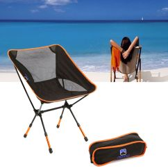 Folding Chair Backpack Mid Century Modern Wood Portable Camping Stool Seat+backpack For Fishing Picnic Bbq Beach | Ebay