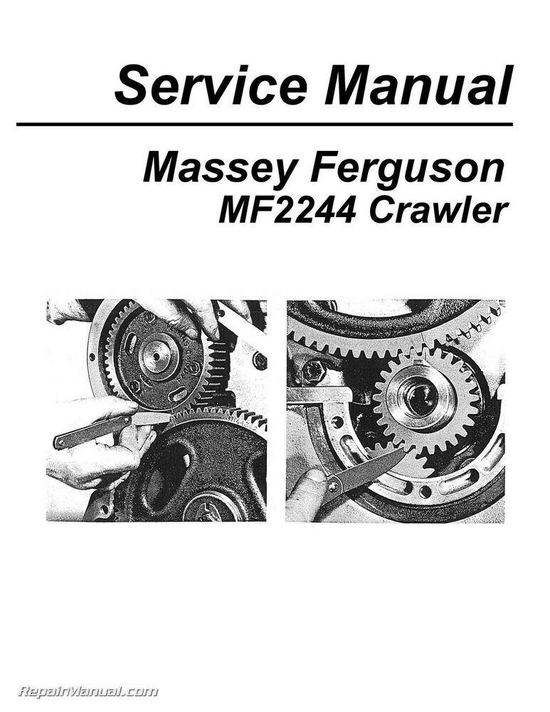 Massey Harris / Ferguson MF2244 Crawler Service Manual