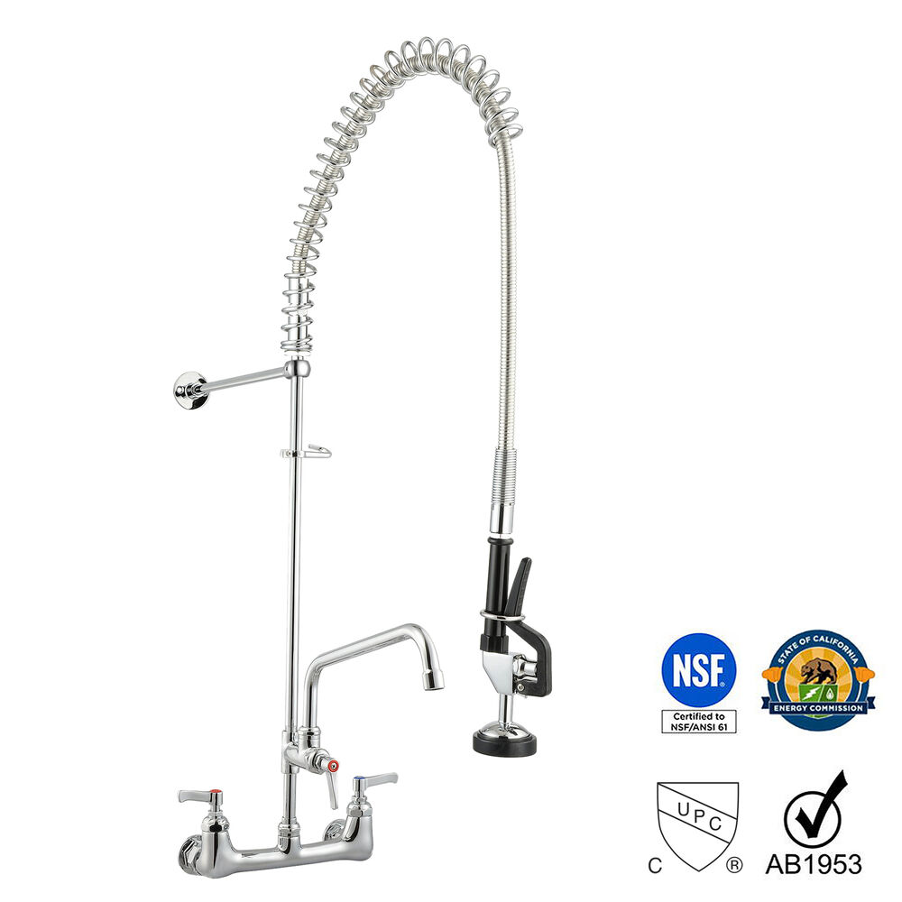New Commercial Kitchen Restaurant PreRinse Faucet Swivel