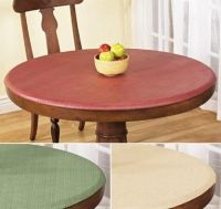 Elastic fitted vinyl indoor outdoor round patio table ...