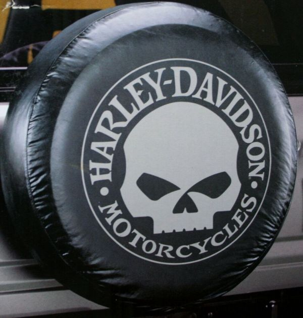 Harley Davidson Hd Willy Skull Logo Motorcycle Camper Rv