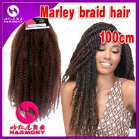 Femi Collection Marley Braid Kanekalon Kinky Synthetic ...