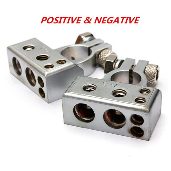 Car Battery Terminal Clamp Copper Alloy Connector With