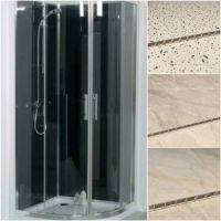 Shower Wall Panel Kit PVC Wet Wall Panels 1000 x 2400mm