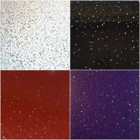 White, Black, Red or Purple Sparkle Bathroom Cladding PVC