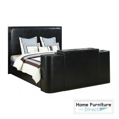 Miles Black Cal King Bed with TV Lift  eBay