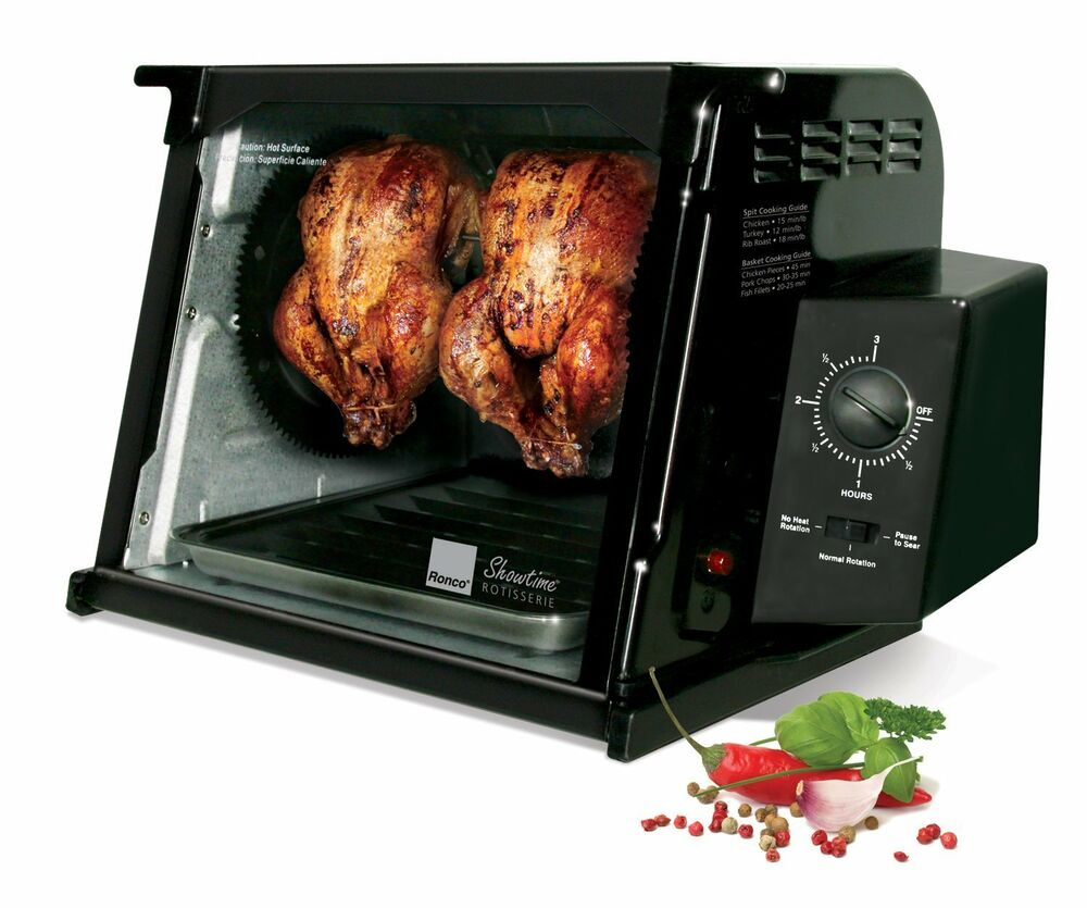 Ronco ST4000BLGEN Showtime 4000 Series Rotisserie NEW EBay