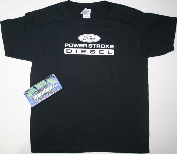 Ford Powerstroke Youth Kids T Shirt Tee Short Sleeve
