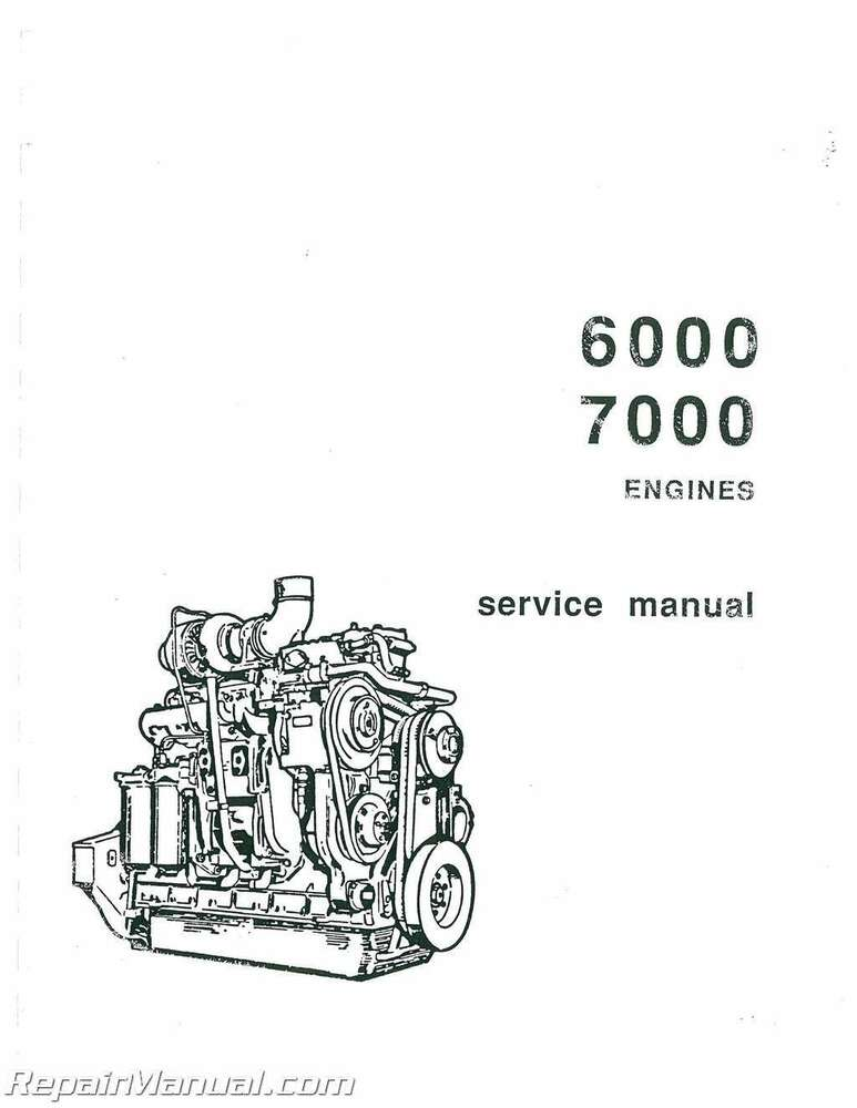 Allis Chalmers HD-7G Diesel Crawler Loader Service Manual