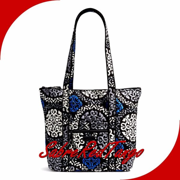 Nwt Vera Bradley Quilted Villager Tote Purse Floral