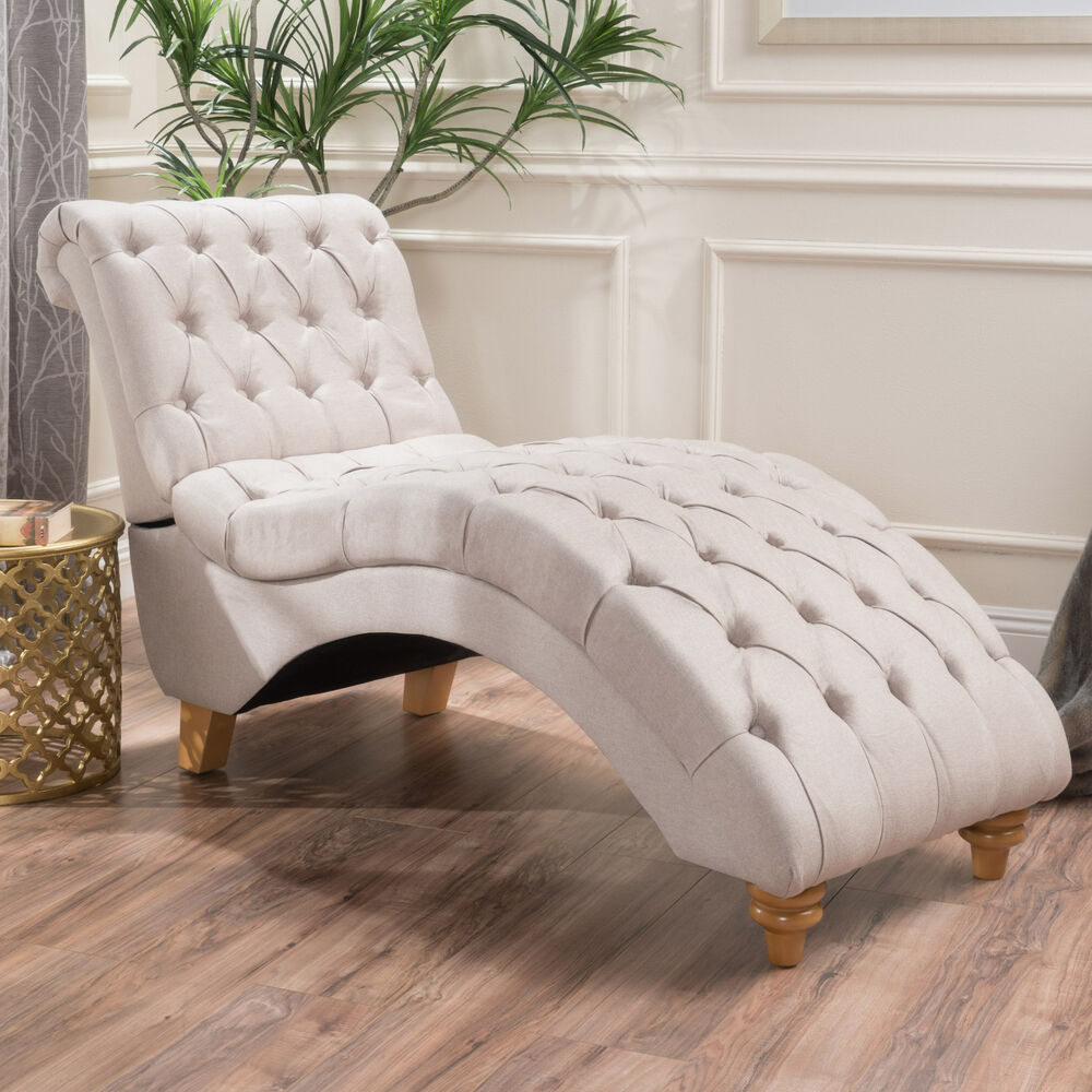 Cream Tufted Chair