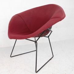 Sling Back Chair Quinceanera Decorations Mid-century Modern Upholstered Knoll Bertoia Diamond (1087)jr | Ebay