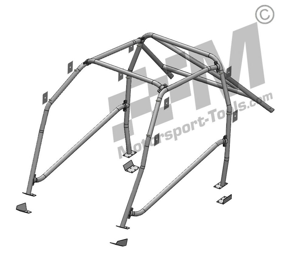 Escort Mk2 Safety Devices Bolt in Roll Cage CDS Multi