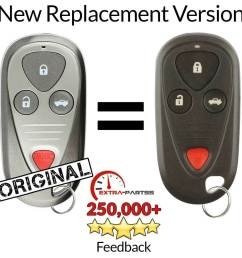 details about for 2004 2005 2006 acura tl remote keyless entry key fob [ 1000 x 1000 Pixel ]