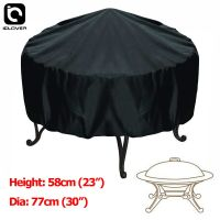 30-inch Patio Round Fire Pit Cover Waterproof UV Protector ...
