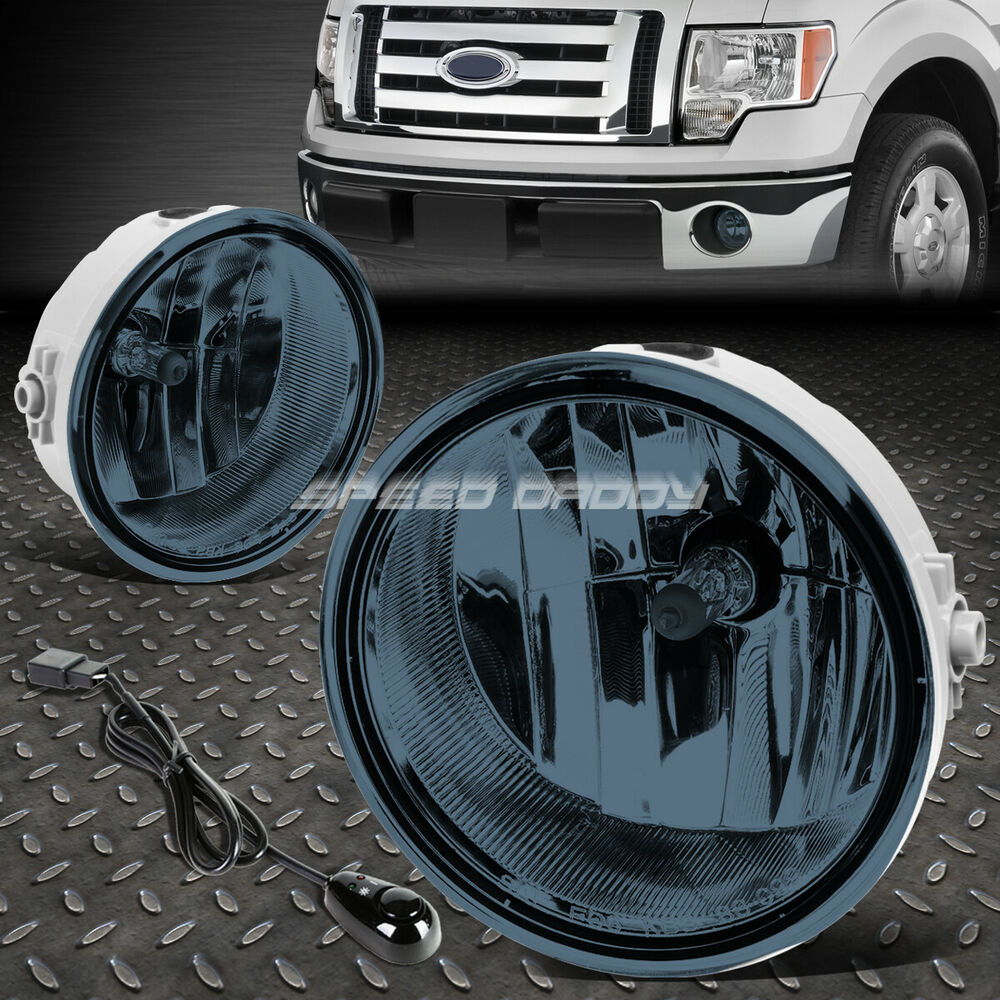 medium resolution of details about for 06 10 ford f150 08 mark lt smoked lens oe bumper fog light lamp pair switch