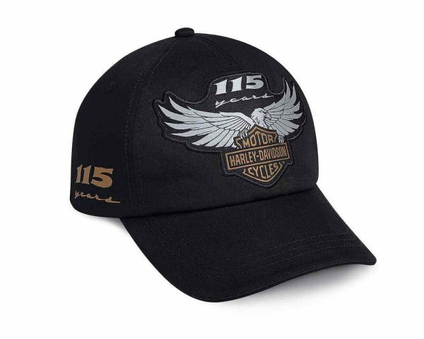 Harley Davidson 115th Anniversary Mens Hat Ball Cap