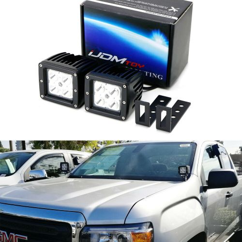 small resolution of details about cree led pod lights w a pillar mounting brackets wiring for 15 chevy gmc truck