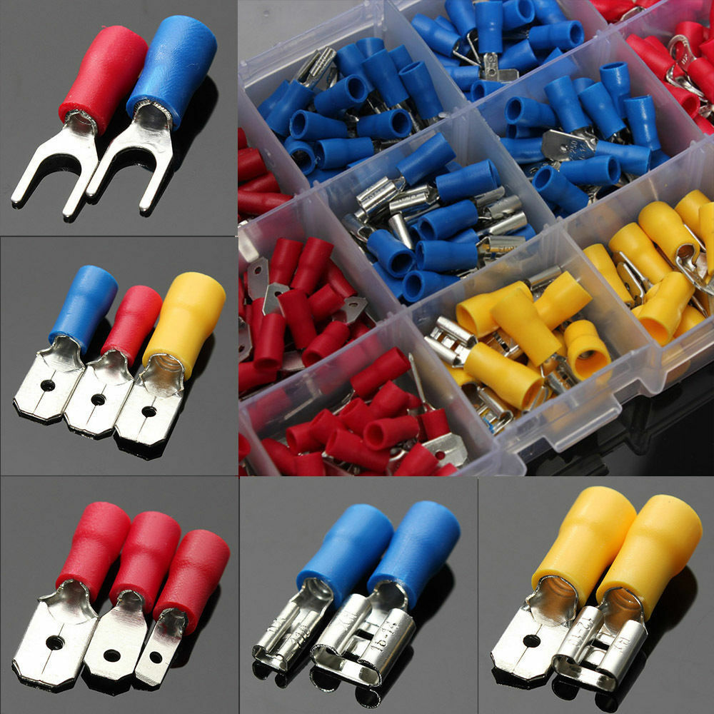 Femalemale Spade Insulated Connectors Crimp Electrical Wire Terminal