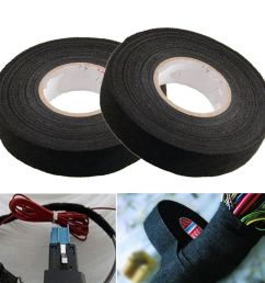 details about 1roll car auto adhesive electrical cloth tape for cable loom wiring harness wrap [ 1000 x 1000 Pixel ]