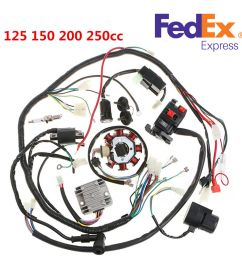 details about 125 250cc motorcycle stator cdi coil electric wiring harness wire loom assembly [ 1000 x 1000 Pixel ]