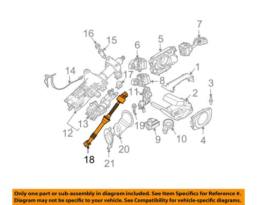 small resolution of details about bmw oem 2009 528i steering column shaft assembly 32306780892