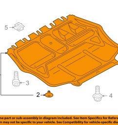 details about vw volkswagen oem jetta splash shield under engine radiator cover 1k0825237ag [ 1000 x 798 Pixel ]