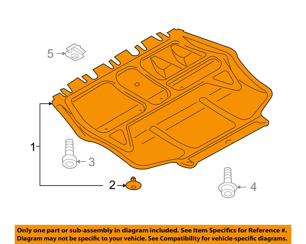 hight resolution of details about vw volkswagen oem jetta splash shield under engine radiator cover 1k0825237ag