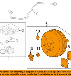 details about lincoln ford oem 13 16 mkz power brake vacuum booster dg9z2005b [ 1000 x 798 Pixel ]