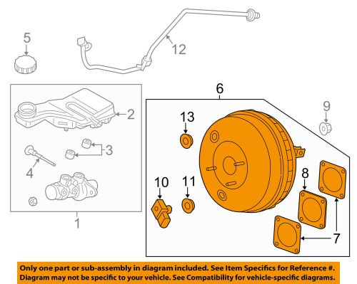 small resolution of details about lincoln ford oem 13 16 mkz power brake vacuum booster dg9z2005b