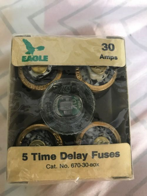 small resolution of upc 032664159008 product image for vintage eagle 670 30 amp glass plug fuses box of 5