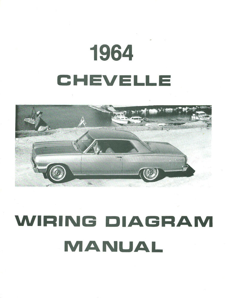 chevrolet wiring diagrams blank diagram of photosynthesis in steps 1964 64 chevelle/el camino manual | ebay