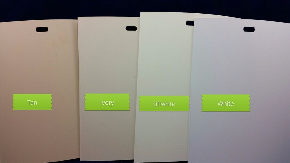 Vertical Blind Replacement PVC Vanes WhiteOffWhIvoryTanGray  eBay