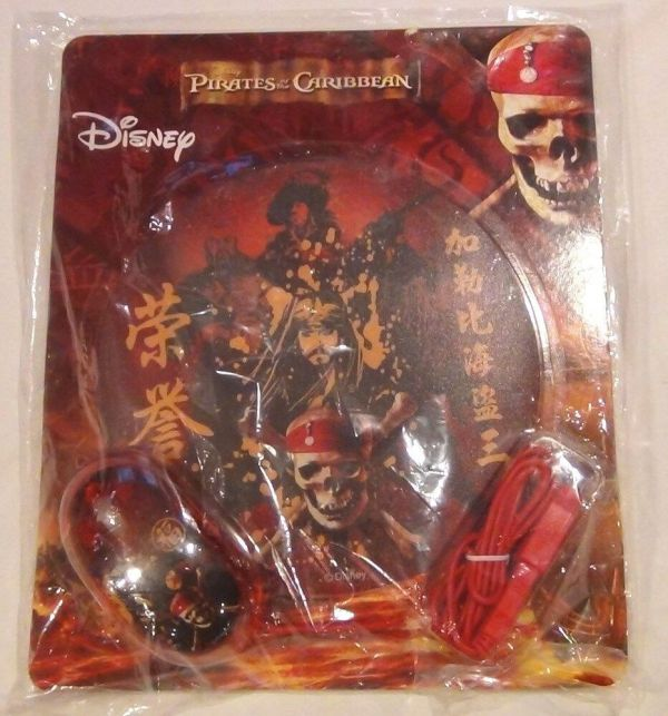 Disney Store Pirates Of Caribbean Mouse & Pad