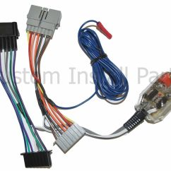 Sub Woofer Wiring Diagram Shunt Wound Dc Motor Factory Radio Add A Amp Amplifier Interface Wire Harness Inline Converter | Ebay