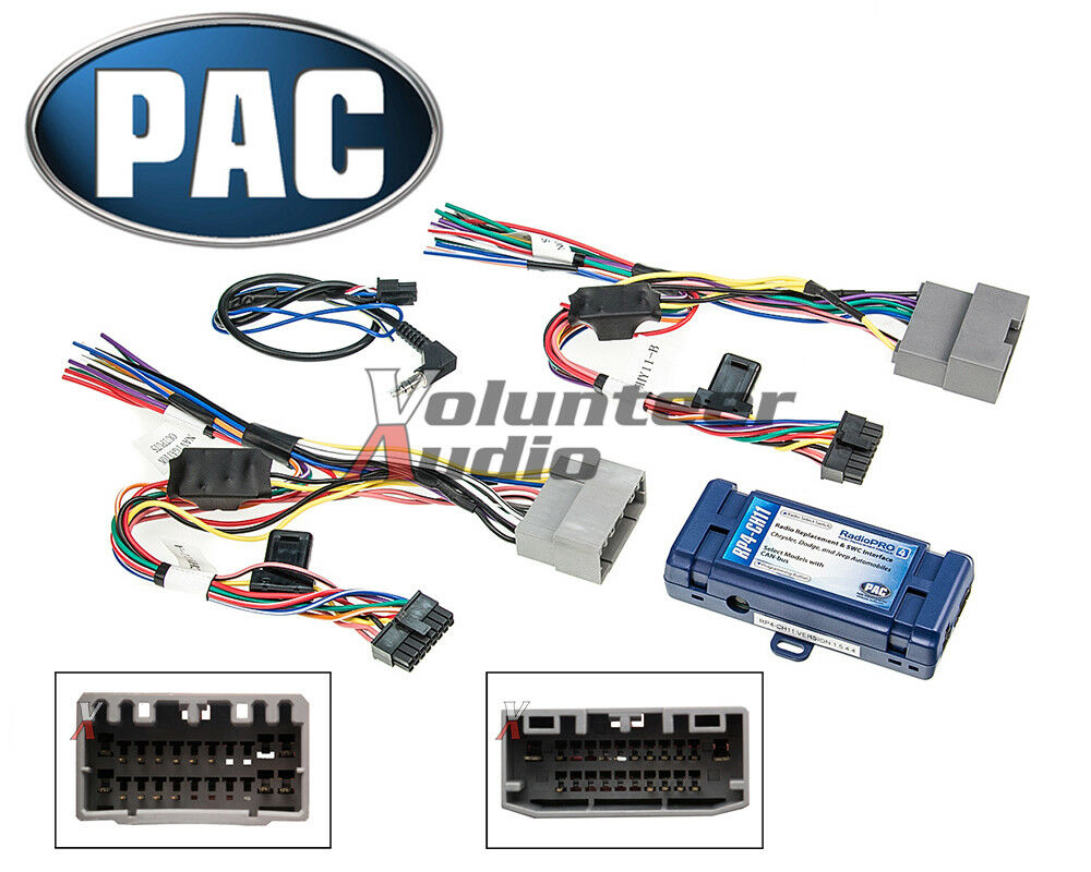 hight resolution of pac rp4 ch11 select chrysler radio interface steering wheel control retention 1159710000004 ebay