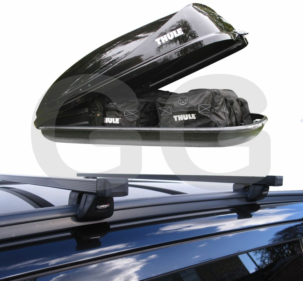Roof Rack Rail Bars & Thule Car Roof Top Box Vauxhall