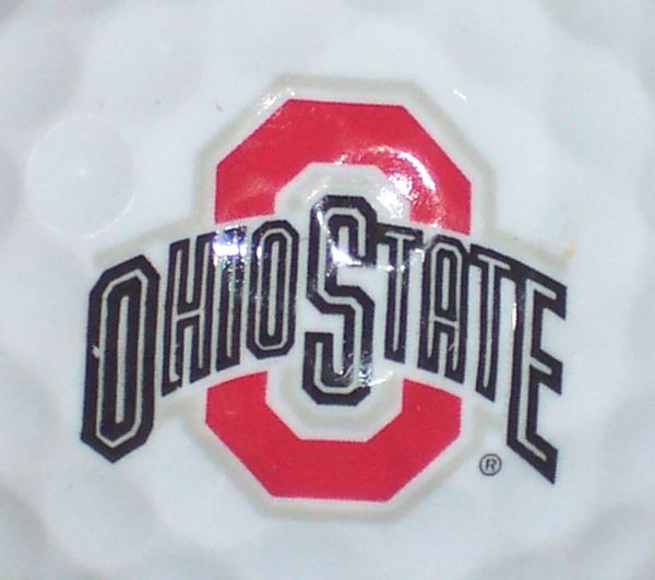 1 Ohio State University Buckeyes Ncaa Logo Golf Ball