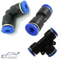Pneumatic Air Hose, Airline Push Fit Connector Fittings ...