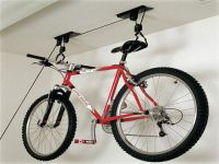 CEILING BIKE STORAGE LIFT HANG CYCLE BICYCLE GARAGE SHED ...