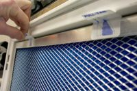 18x25x1 Electrostatic Furnace A/C Air Filter - Washable ...